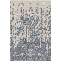 Safavieh Handmade Restoration Vintage Ivory / Blue Wool Distressed Rug - 3' x 5'