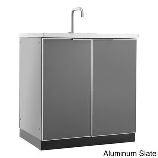 """NewAge Products Outdoor Kitchen 32""""W X 24""""D Sink Cabinet"""