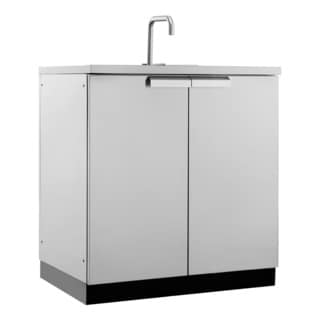 "NewAge Products Outdoor Kitchen 32""W X 24""D Sink Cabinet"