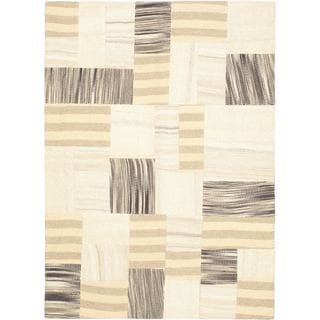 Ecarpetgallery Wool Kilim Hand-woven Mosaic Rug