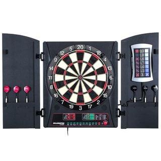 Arachnid Bullshooter E-Bristle Cricketmaxx 3.0 Dartboard Cabinet Set