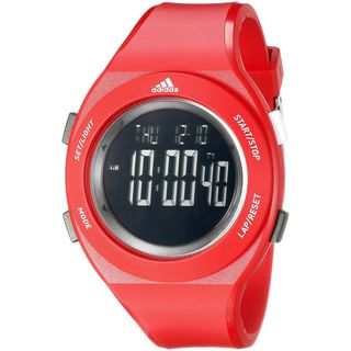 Adidas Unisex ADP3209 'YUR Basic' Digital Red Polyurethane Watch