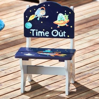 Fantasy Fields Outer Space Time Out Blue MDF Chair