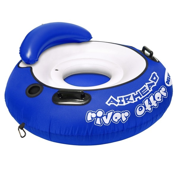 Airhead River Otter Deluxe Blue PVC 48-inch Deluxe Tube