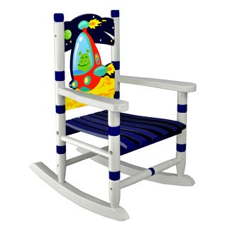 Fantasy Fields Outer Space Wooden Small Rocking Chair