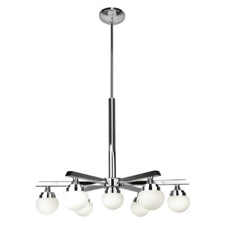 Access Lighting Classic Chrome LED Chandelier