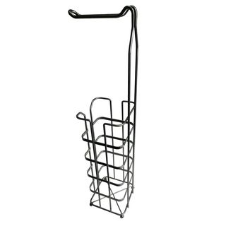 Chrome Finish Toilet Paper Rack by Elegant Home Fashions