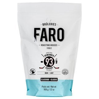 Faro Classic Remember 93 2-pound Fair Trade, Certified Organic, Small Batch, Gourmet Whole Coffee Beans