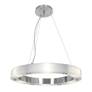 Access Lighting Oracle Steel 22 inch LED Ring Chandelier