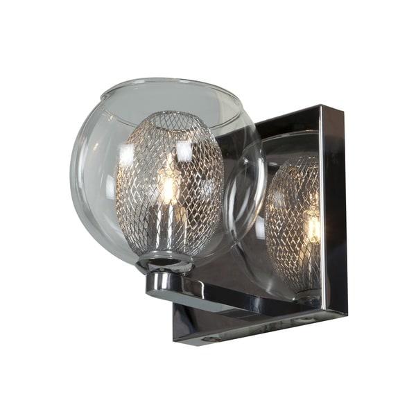 Aeria Chrome 1 Light LED Vanity