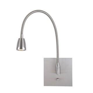 Access Lighting TaskWerx Steel LED Gooseneck Wall Task Lamp