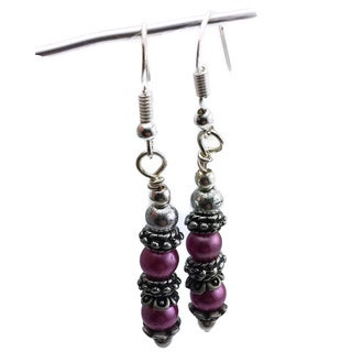 Mama Designs Handmade Sterling Silver Drop Style Earrings