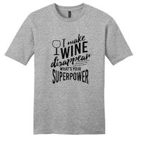 'I Make Wine Disappear' Unisex T-shirt