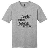People Disappoint Chocolate is Eternal' Unisex T-shirt