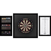 Viper Championship 41-0605 Mahogany Oak Wood-framed Dartboard Backboard Set with No Dartboard or Accessories