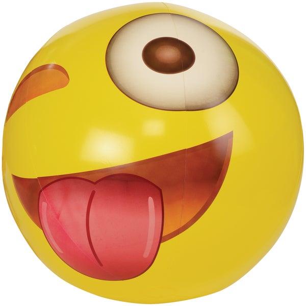 Emoji Wink 56-inch Jumbo Beach Ball