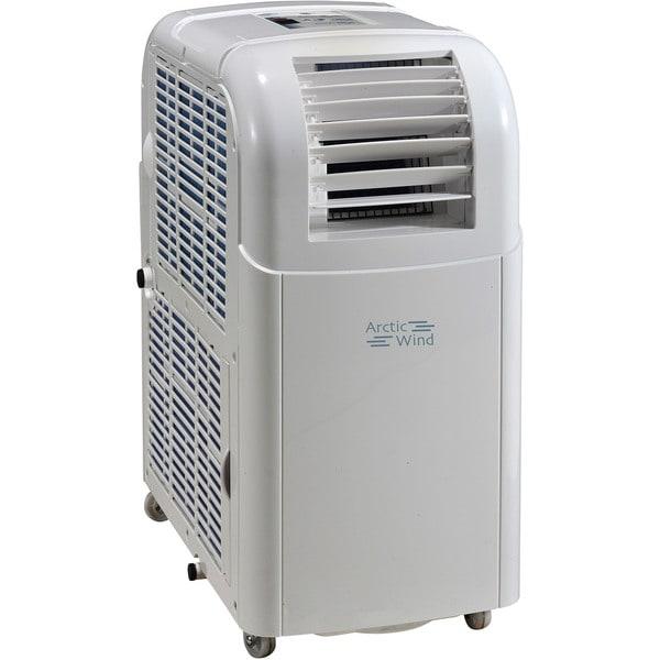 Artic Wind 10000 BTU Portable Air Conditioner with Dehumidifier - White