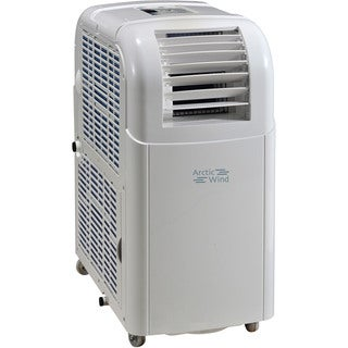 Arctic Wind 8000 BTU Portable Air Conditioner with Dehumidifier - White