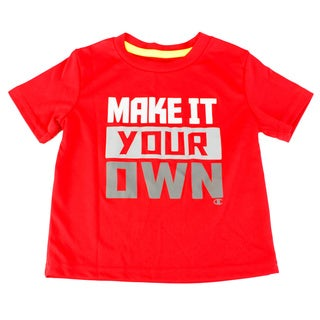 Champion Boy's Red Polyester Top