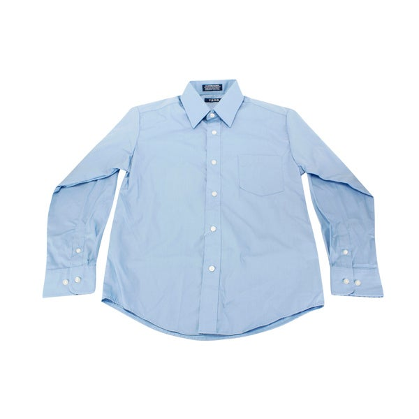 Izod Blue Boy 39 S Dress Shirt Free Shipping On Orders Over