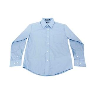 Izod Blue Boy's Dress Shirt