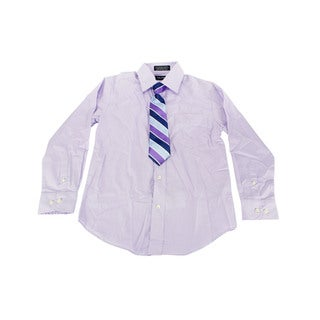 Nautica Boys Purple Dress Shirt