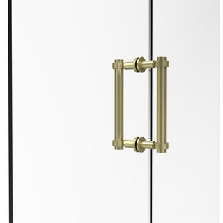 Allied Brass 8-inch Contemporary Back-to-back Shower Door Pull