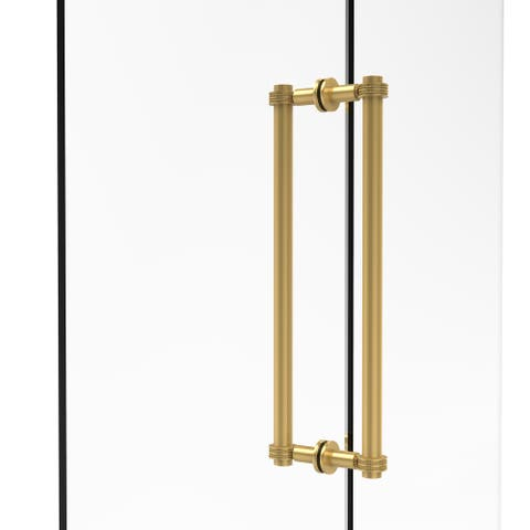 Allied Brass Contemporary 18-inch Back-to-back Shower Door Pull