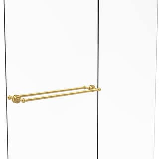 Allied Brass Dottingham Collection 30-inch Back-to-back Shower Door Towel Bar