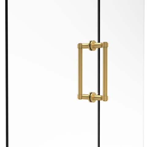 Allied Brass Contemporary 8-Inch Back to Back Brass Shower Door Pull