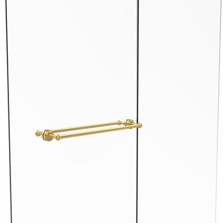 Allied Brass Dottingham Collection 24-inch Back-to-back Shower Door Towel Bar