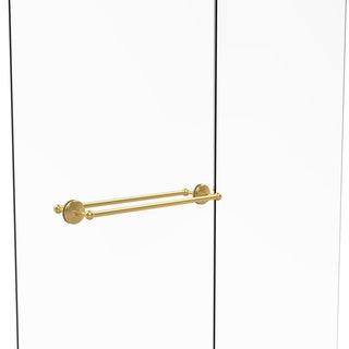 Allied Brass Monte Carlo Collection 24-inch Back-to-back Shower Door Towel Bar