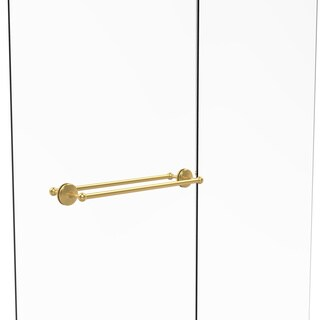 Allied Brass Monte Carlo Collection 24-inch Back-to-back Shower Door Towel Bar (More options available)