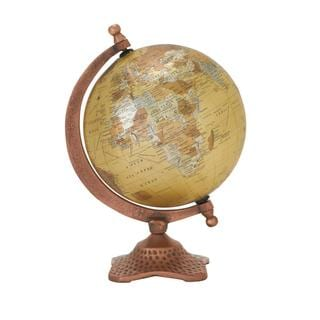 Metal and PVC Earth Globe with Stand
