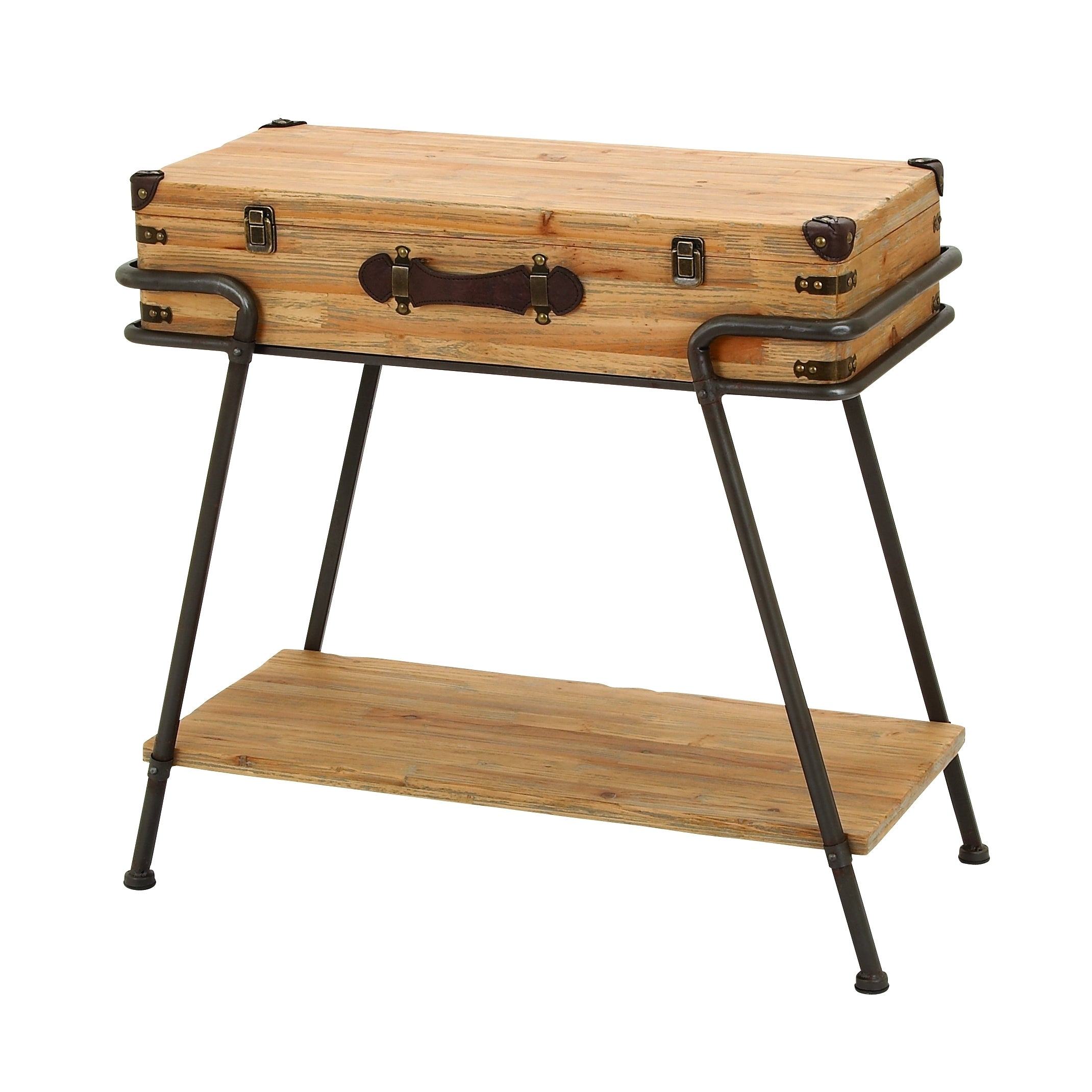 Studio 350 Accent Collection Metal and Wood 32-inch x 30-...