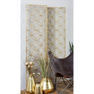 Metal Wire 57-inch x 79-inch 3-panel Screen