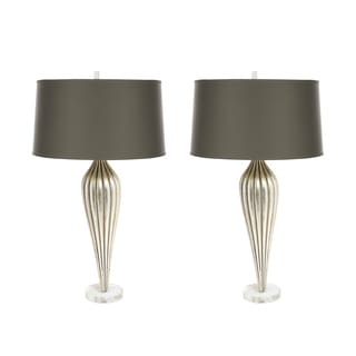 Aidan Gray Penelope 2-piece Handcrafted Tall Table Lamp Set