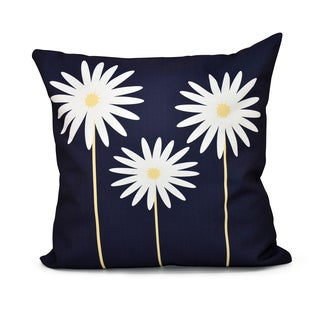 16 X Inch Daisy May Fl Print Indoor Outdoor Throw Pillow