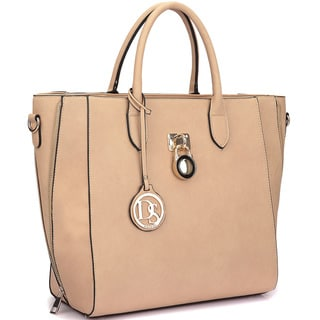 Link to Dasein Faux Leather Medium Tote Bag Similar Items in Shop By Style