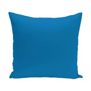 16 x 16-inch Solid Print Outdoor Pillow