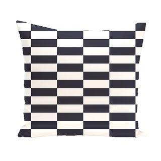 16 x 16-inch Stair Stepping Stripes Print Outdoor Pillow