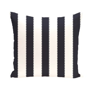 16 x 16-inch Stitch in Time Stripes Print Outdoor Pillow