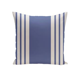 16 x 16-inch Big and Bold Stripe Print Outdoor Pillow