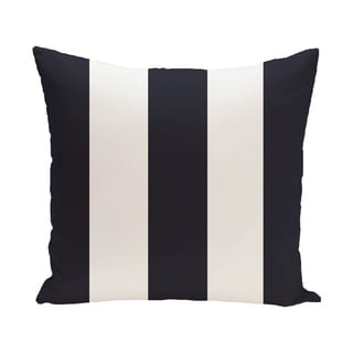 16 x 16-inch Awning Stripe Stripe Print Outdoor Pillow