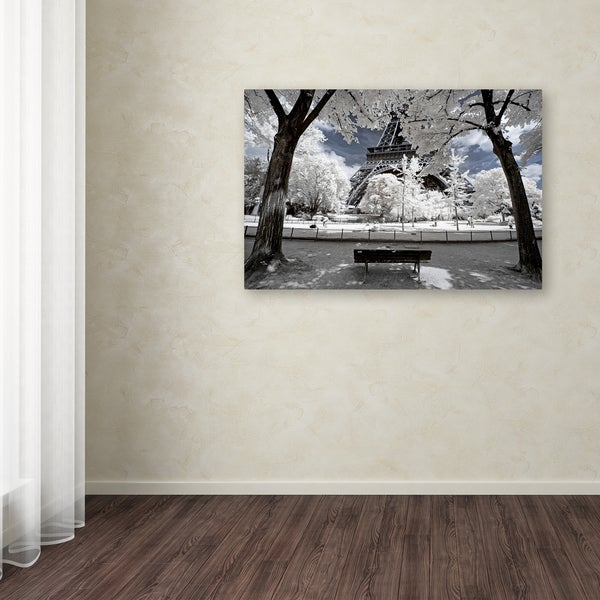 Philippe Hugonnard 'Another Look at Paris VI' Canvas Art - Multi