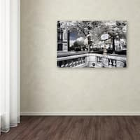 Philippe Hugonnard 'Another Look at Paris XII' Canvas Art - Multi