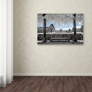 Philippe Hugonnard 'Another Look at Paris XIX' Canvas Art
