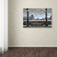 Philippe Hugonnard 'Another Look at Paris XIX' Canvas Art - Multi