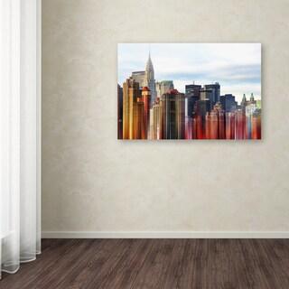 Philippe Hugonnard 'Urban Stretch NYC III' Canvas Art