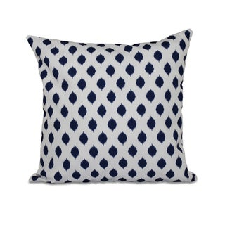 Link to 16 x 16-inch Cop-IKAT Geometric Print Outdoor Pillow Similar Items in Decorative Accessories